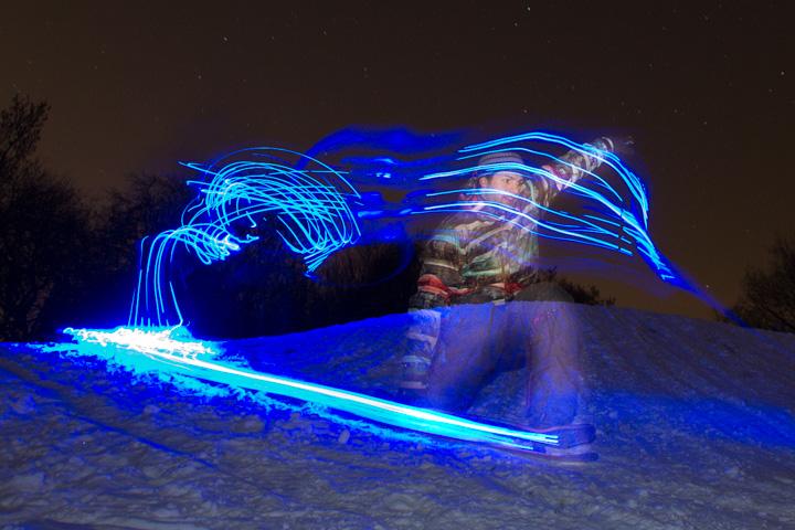 snowskate-led